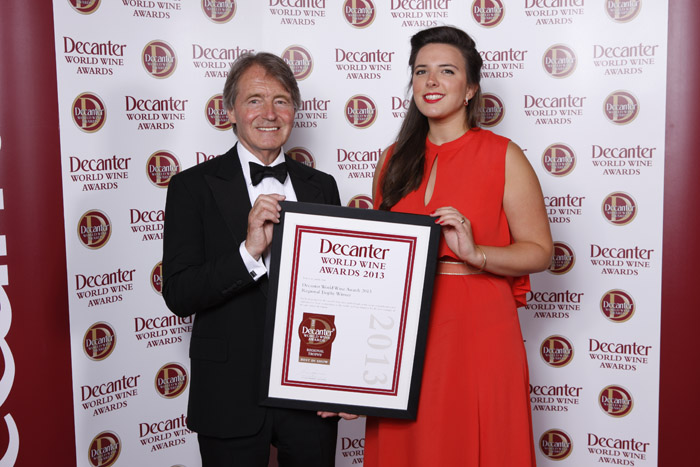 Camille Bessou_Decanter Awards 2013