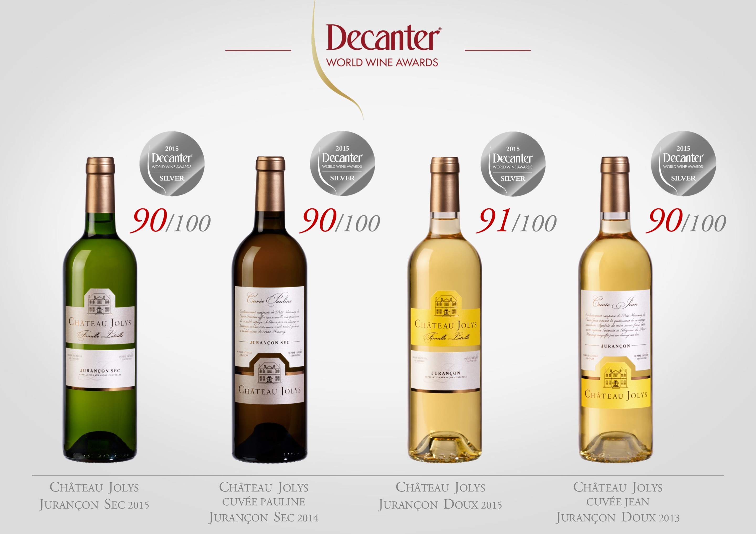 Decanter 2016 Jolys